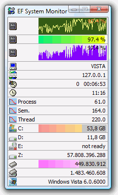 Click to view EF System Monitor 18.10 screenshot